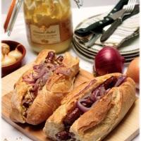 Hot dogi z merguez i syropem klonowym