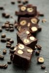 Chocolate and Coffee Fudge with Vanilla Salt from Chili & Tonka